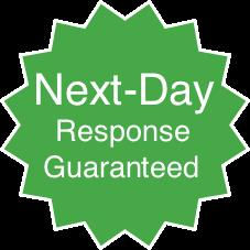 Next Day Response